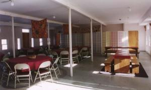 Claymont Great Barn Dining Room