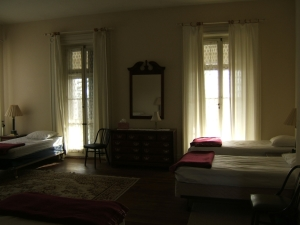 Claymont Mansion Bedroom
