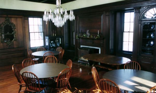 Claymont Mansion Dining Room